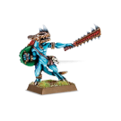 Warhammer: Skink Chief with Sword & Shield