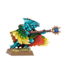 Warhammer: Skink Priest with Feathered Cloak