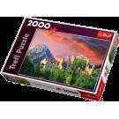"Пазл: 2000 ""The Hohenschwangau Castle, Bavaria"""