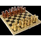 Шахматы лакированные с доской С-1/ШК-5 (300*160)