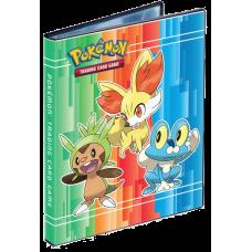 TCG Pokemon: Альбом для карт Чеспин, Фенекин и Фроки