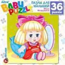 """Пазл для детей """"Кукла"""" (36 деталей)"""