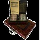Маджонг (в кожаной коробке малый)