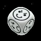 """Кубик D6 """"Эмоции"""""""
