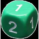 Кубик D2, 16 мм