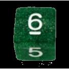 """Кубик D6 """"глиттер-мини"""""""