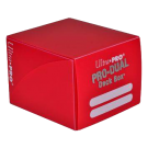 "Коробка для карт: Ultra PRO ""PRO-DUAL"" (Красная)"