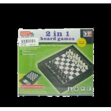 Шахматы и шашки (2 в 1)
