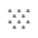 Warhammer 40000: Chaos Space Marines Black Legion Shoulder Pads
