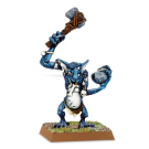 Warhammer: Stone Troll with Axe & Rock