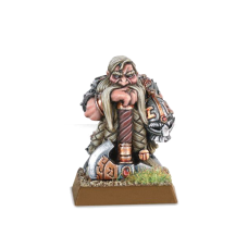Warhammer: Dwarf Lord with Great Weapon