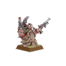 Warhammer: Dwarf Engineer with Brace of Pistols