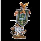 Warhammer: Thane with Army Battle Standard