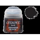 Базовая краска Abaddon Black