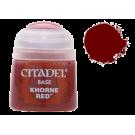 Базовая краска Khorne Red