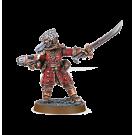 Warhammer 40000: Vostroyan Commander with Power Sword
