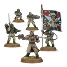 Warhammer 40000: Cadian Command Squad