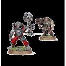 Warhammer 40000: Servitors with Multi-melta