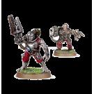 Warhammer 40000: Servitors with Plasma Cannon